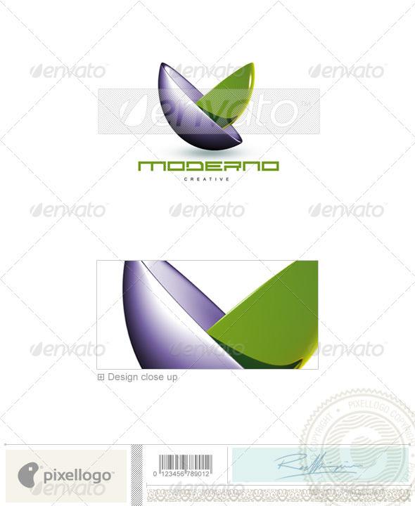 GraphicRiver Print & Design Logo 3D-89 496714