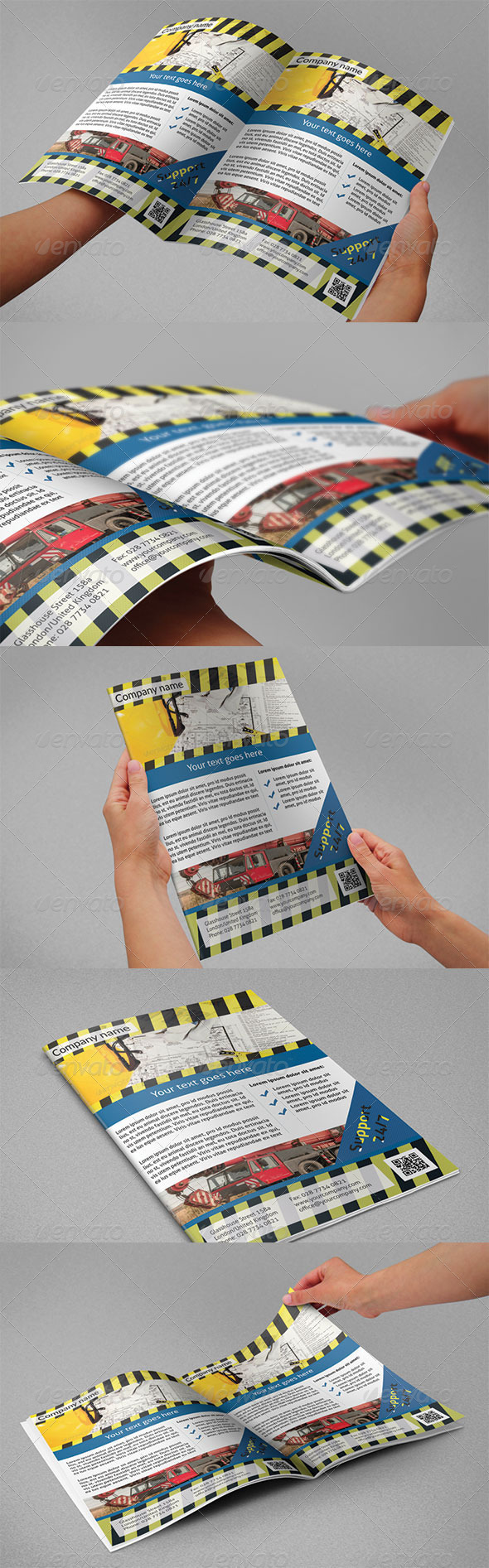 GraphicRiver Construction Flyers 4670852