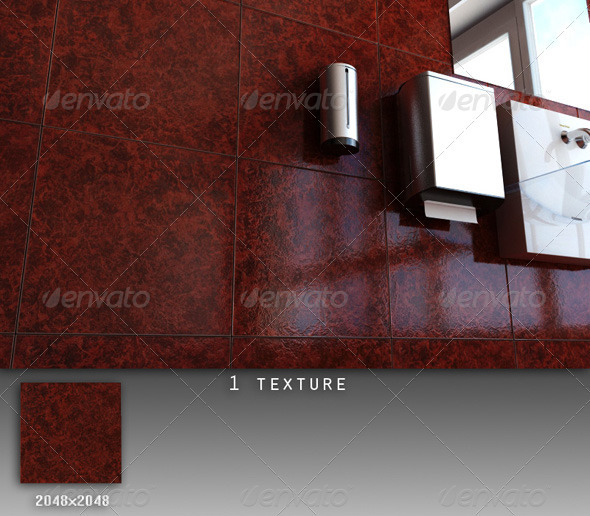Professional Ceramic Tile Collection C045 - 3DOcean Item for Sale