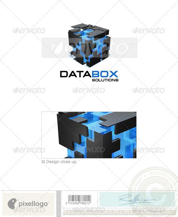 Technology Logo - 3D-255