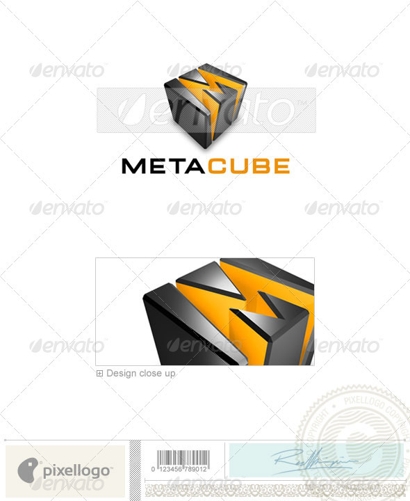 Technology Logo - 3D-339