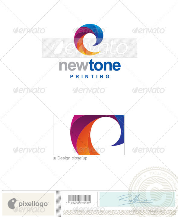 Print & Design Logo - 2097 - Vector Abstract
