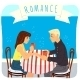Man and Woman Drinking Coffee - GraphicRiver Item for Sale
