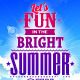 Summer Typography on Blue Sky - GraphicRiver Item for Sale