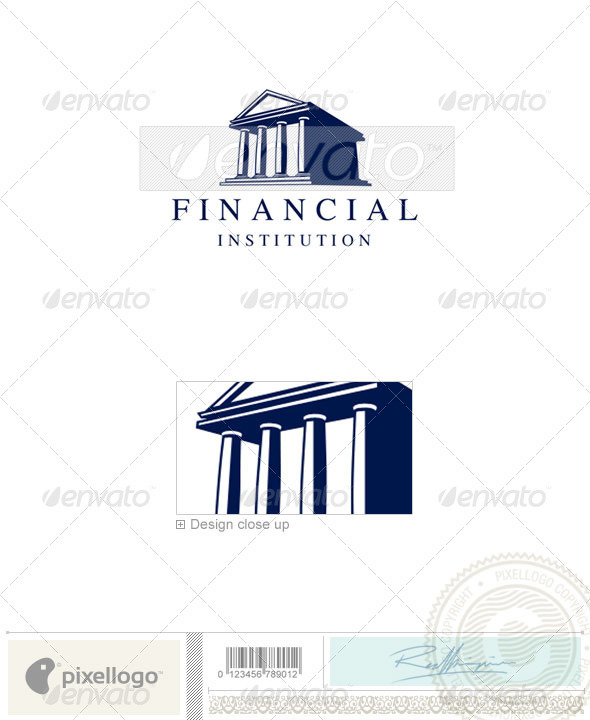 Business & Finance Logo - 2028 - Vector Abstract