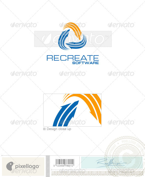 Business & Finance Logo - 1026 - Vector Abstract