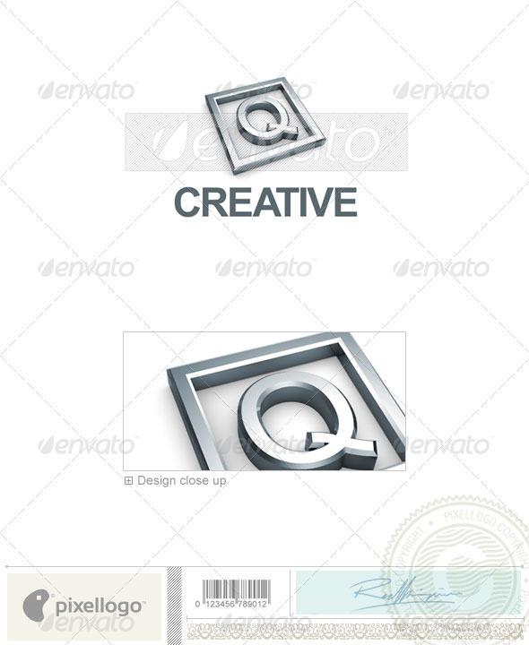 Q Logo 3D-295-Q