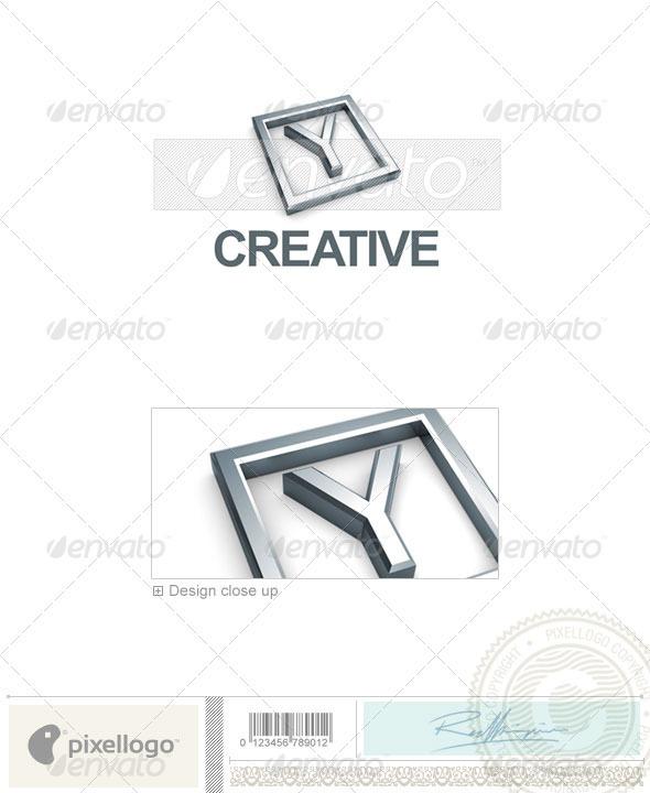 GraphicRiver Y Logo 3D-295-Y 496787