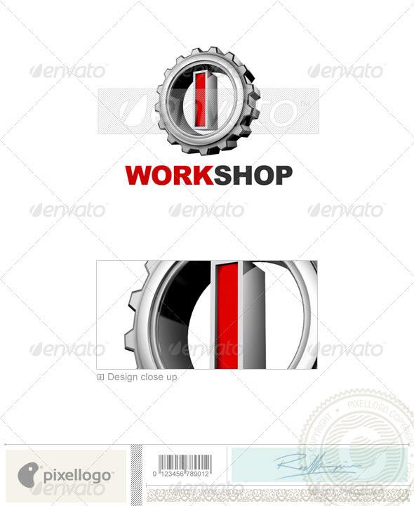 GraphicRiver I Logo 3D-292-I 496813