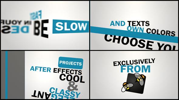 Kinetic Typography (Titles)