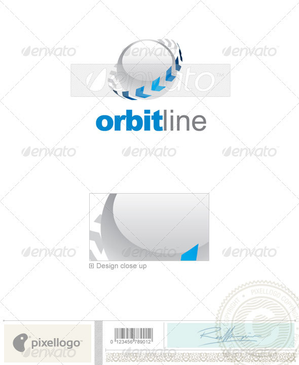 Communications Logo - 2249 - Vector Abstract