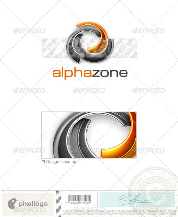 Technology Logo - 3D-488