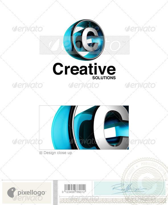 GraphicRiver C Logo 3D-438-C 496839