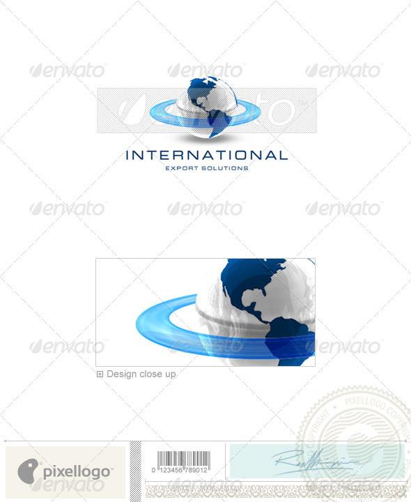 GraphicRiver Communications Logo 3D-41 496846