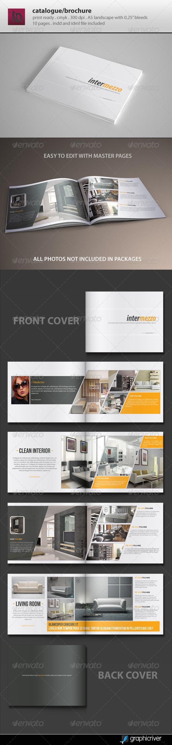 GraphicRiver Catalogue Brochure Template 4763514