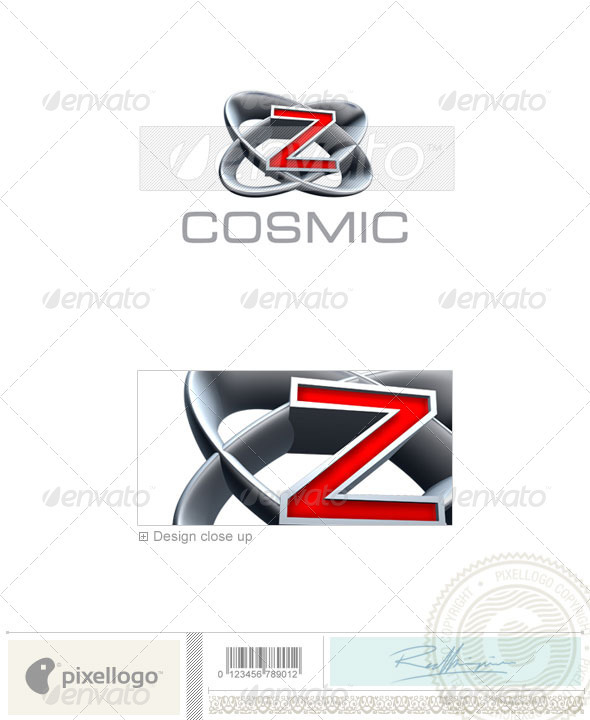 Z Logo 3D-348-Z