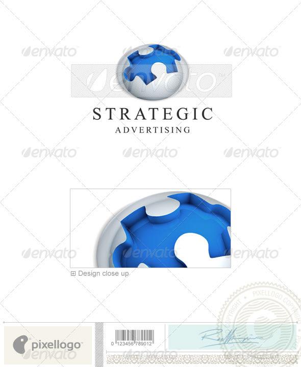 Business & Finance Logo 3D-403
