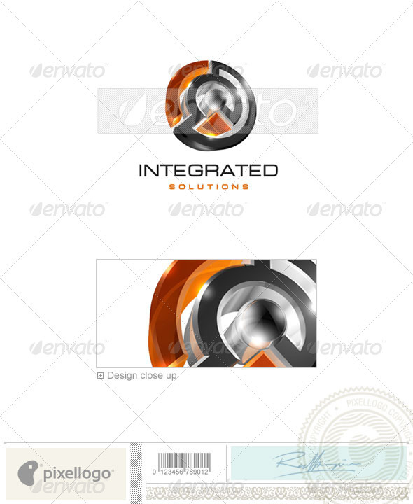 Technology Logo - 3D-70