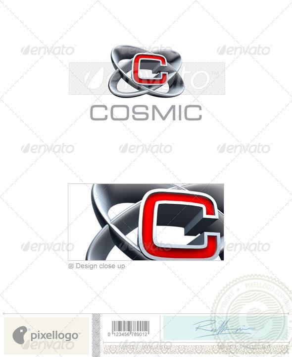 C Logo 3D-348-C