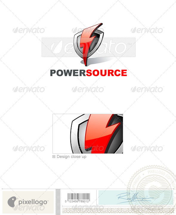 GraphicRiver Industry & Science Logo 1376 496892