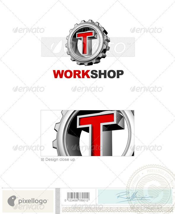 T Logo 3D-292-T