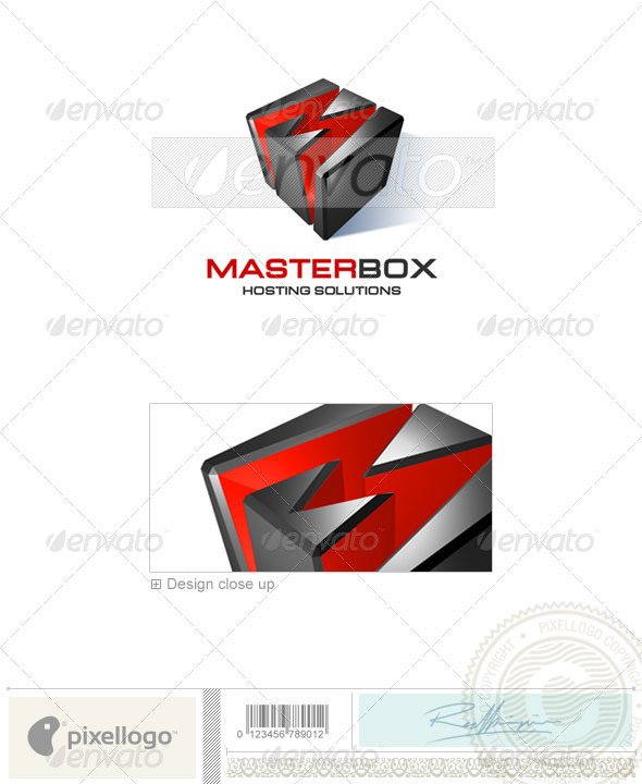GraphicRiver Technology Logo 3D-109 496902