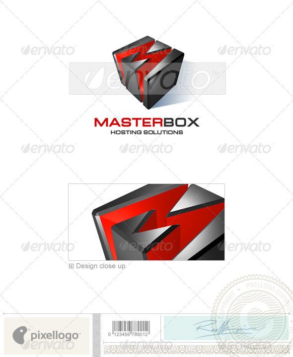 Technology Logo - 3D-109