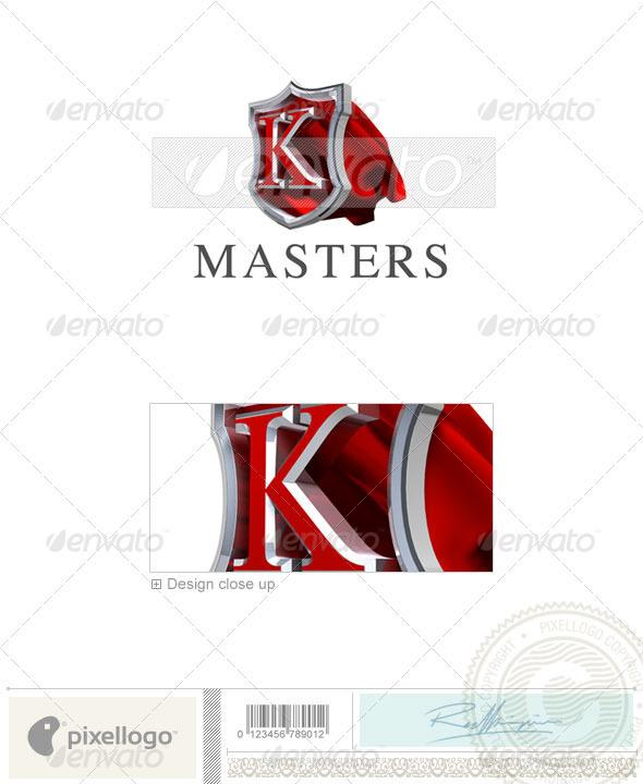 GraphicRiver K Logo 3D-259-K 496906