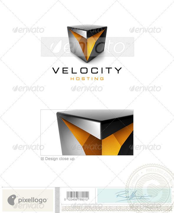 Technology Logo - 3D-470