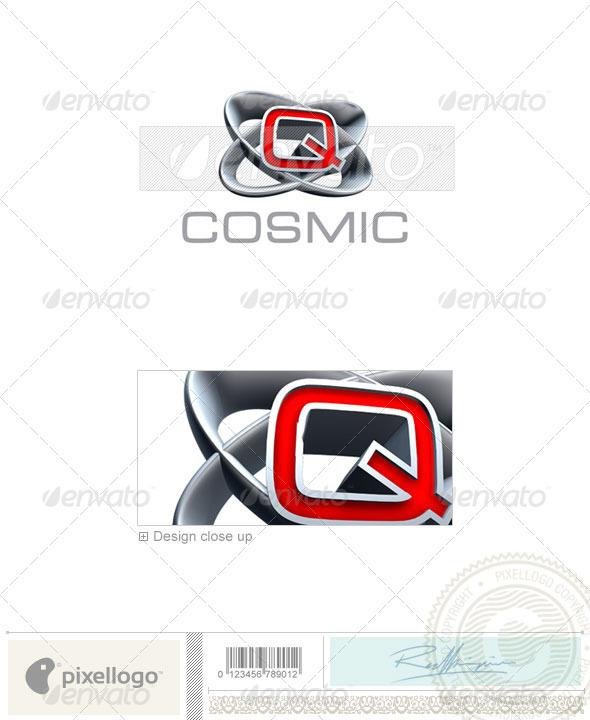 Logo - 3D-348-Q ...Q Logo 3d