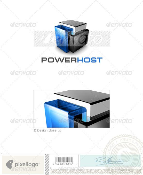 Technology Logo - 3D-461