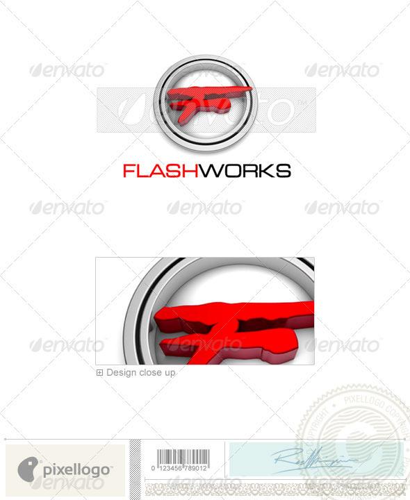 Print & Design Logo 3D-381