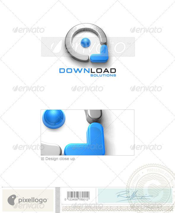 Technology Logo - 3D-163