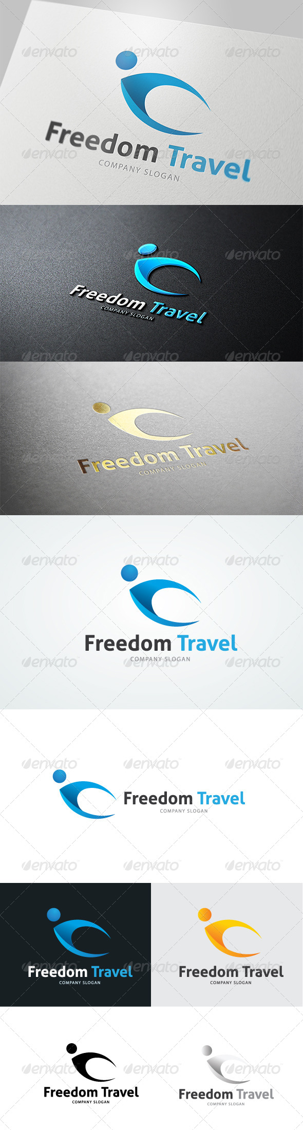 GraphicRiver Freedom Travel 4763962