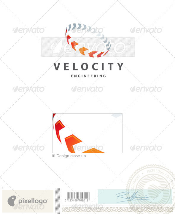 Communications Logo - 2241 - Vector Abstract