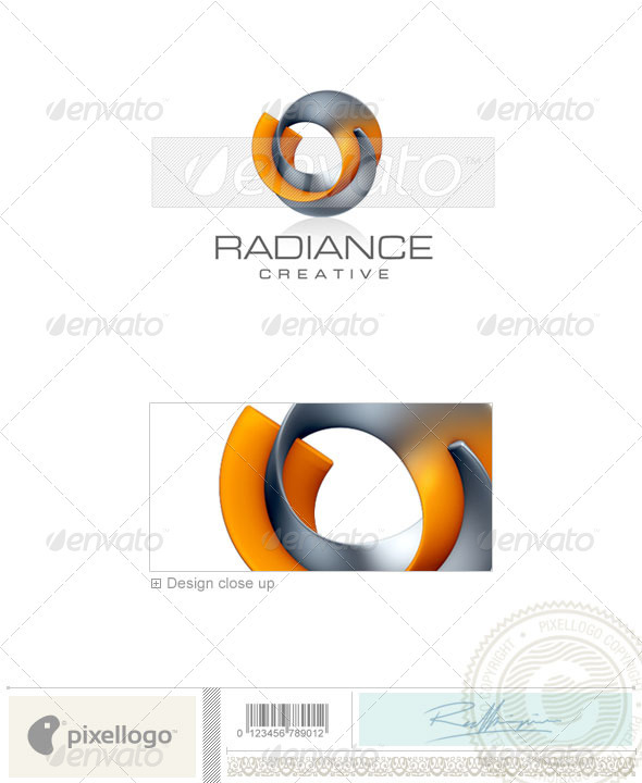 GraphicRiver Activities & Leisure Logo 3D-303 496996