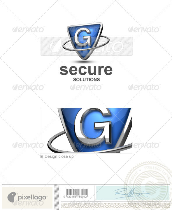G Logo - 3D-285-G - Letters Logo Templates