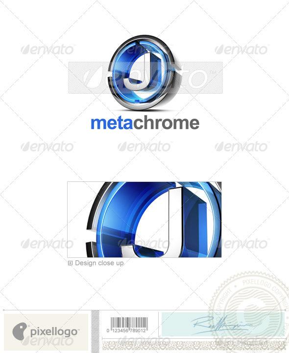 J Logo 3D-476-J