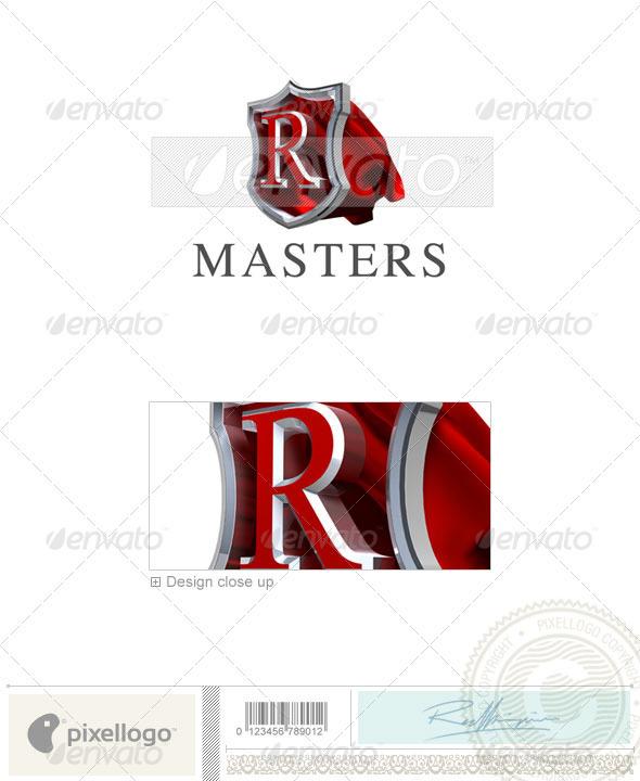 R Logo 3D-259-R
