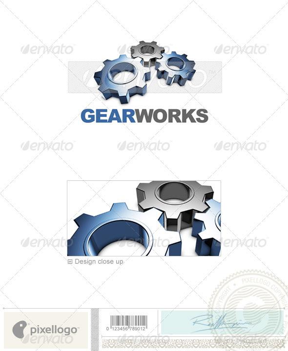 Print & Design Logo 3D-441
