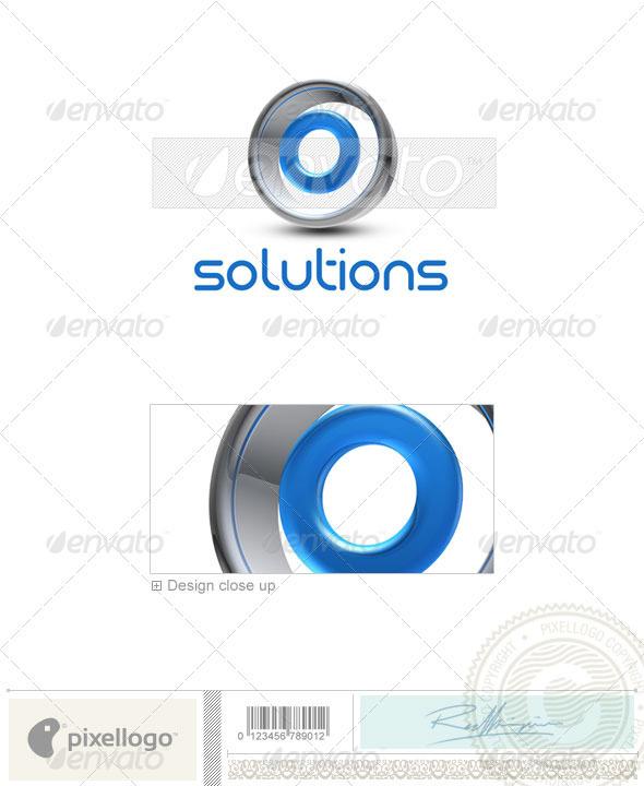 O Logo 3D-288-O