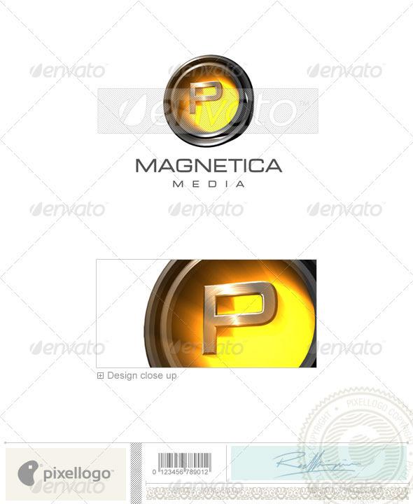 P Logo 3D-238-P