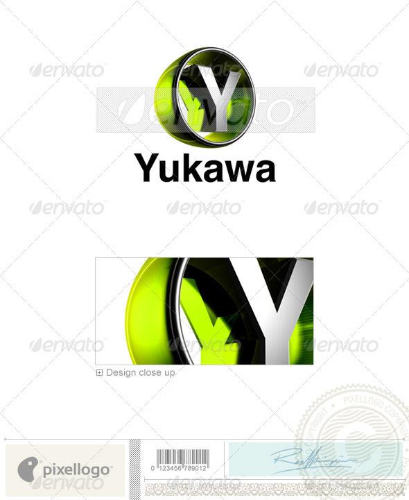 Y Logo 3D-438-Y