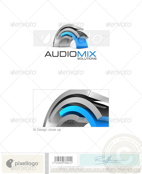 GraphicRiver Activities & Leisure Logo 3D-343 497051