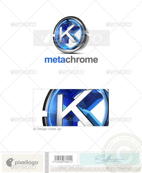Logo - 3D-476-K ...K Logo 3d