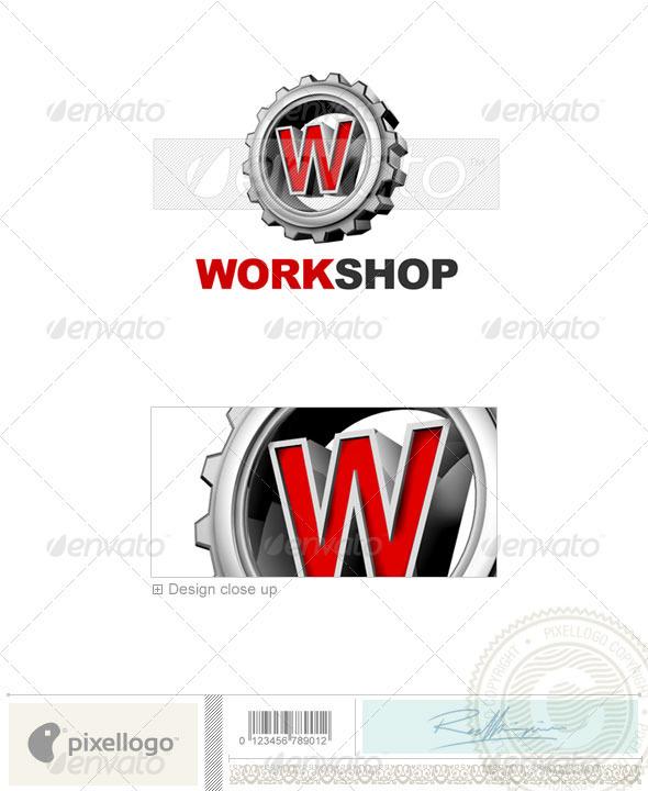 W Logo 3D-292-W