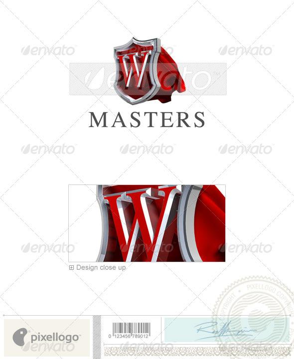 W Logo 3D-259-W