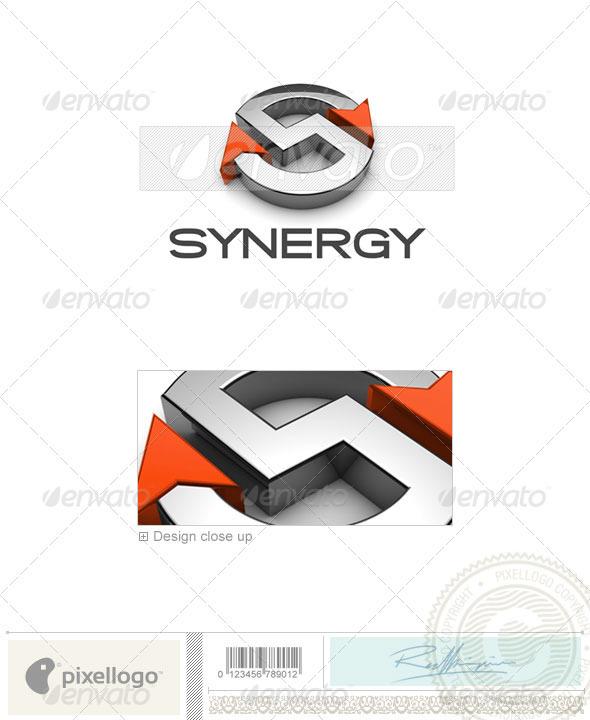 Technology Logo 3D-676