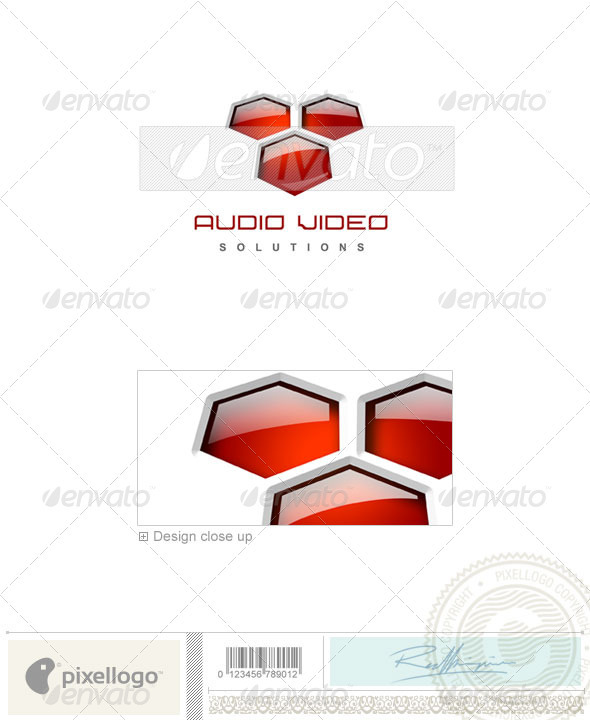 GraphicRiver Activities & Leisure Logo 3D-121 497112