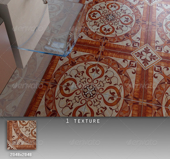 3DOcean Professional Ceramic Tile Collection C047 497130